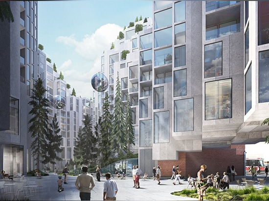 the development is expected to host 500 apartment units