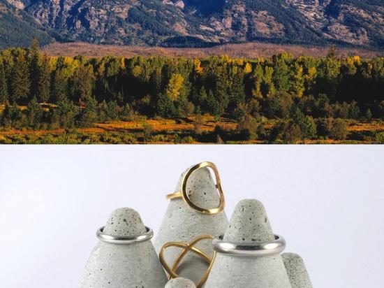 mountain ring crater vs grand teton range, north america