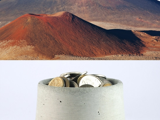 mini crater bowl vs haleakala volcano, hawaii