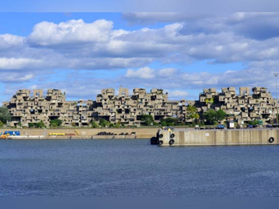 """Moshe Safdie used """"all the Lego in Montreal"""" to design Habitat 67"""