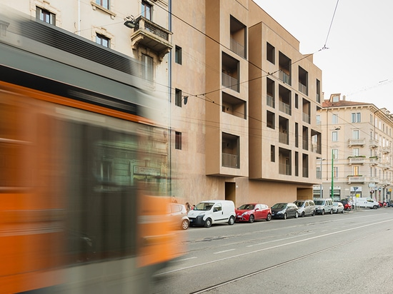 the project sits centrally within the city's existing urban fabric