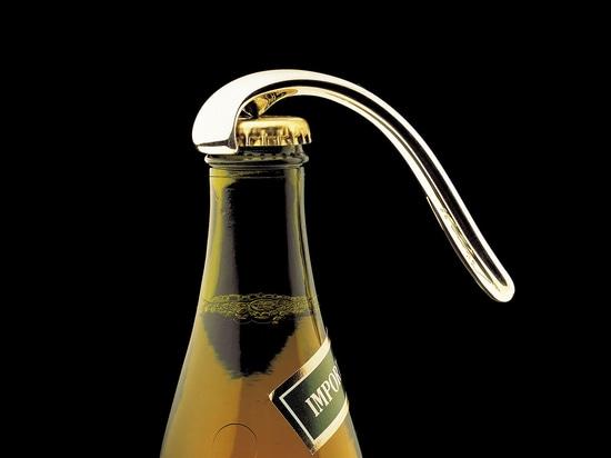 Bottle Opener, silver.