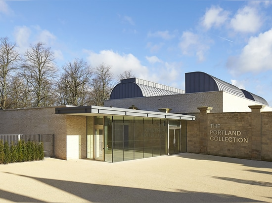 The Harley Gallery, architect Hugh Broughton's second ever museum building, was designed to house the art collection of the Welbeck estate