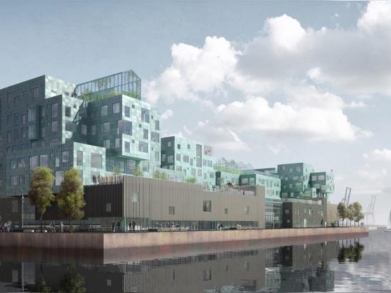 World's largest solar glass facade will supply half the electricity for Copenhagen International School