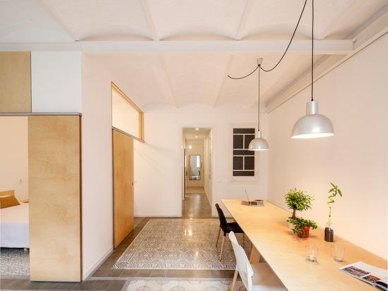 adrian elizalde renovates a 1930s apartment in barcelona