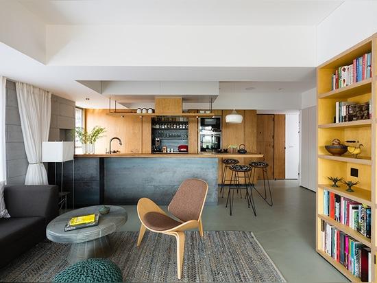 architecture brio renovates a compact city apartment in mumbai