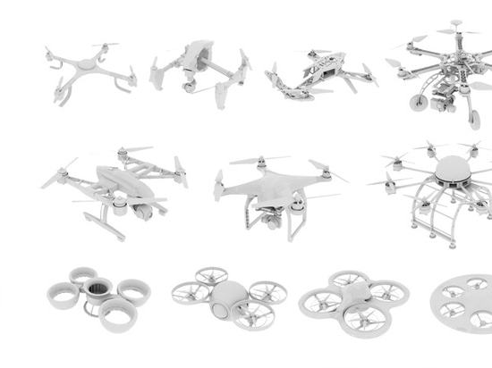 classification of drone models