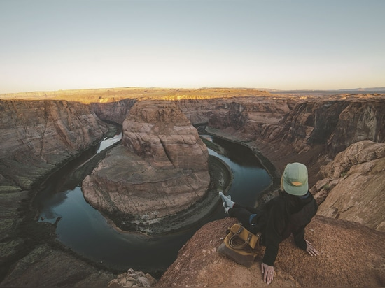 Horseshoe Bend, United States. Photo by Joel Bear, from 'The Great Wide Open', © Gestalten 2015.