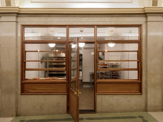 Busy Baking: The Arcade Bakery in Tribeca, New York City by Workstead