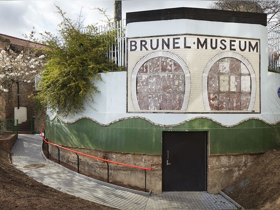 The museum is located within Brunel's Thames Tunnel Engine House, which is itself a nationally important 'Scheduled Monument'. Photography: Jack Hobhouse
