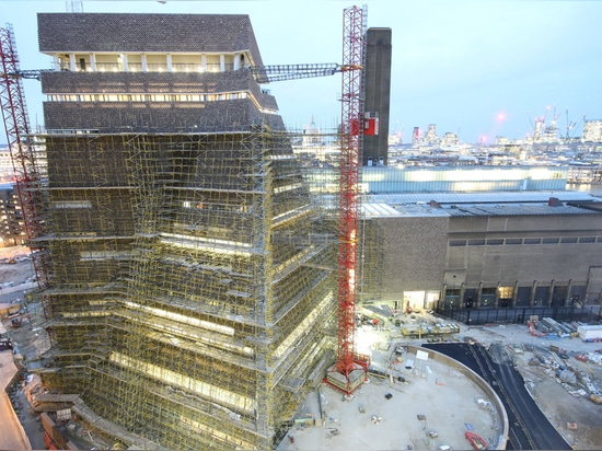 The fast-paced construction site is working towards a weekend of grand opening weekend celebrations from 17 June. Photography: Tate Photography