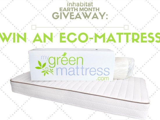 EARTH MONTH GIVEAWAY: Score a non-toxic Simple Sleep Mattress from My Green Mattress