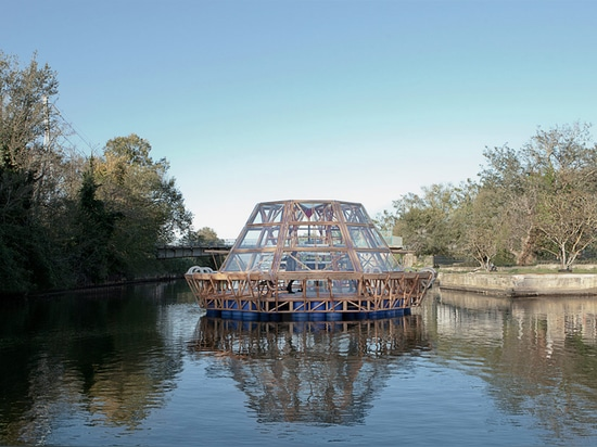 PNAT builds jellyfish barge for sustainable crop cultivation