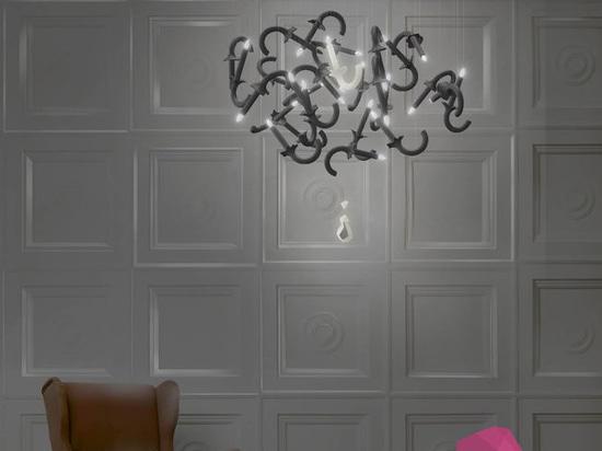 NEW: original design chandelier by Beau&Bien