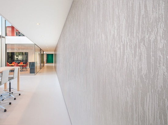 NEW: fabric wallcovering by Vescom