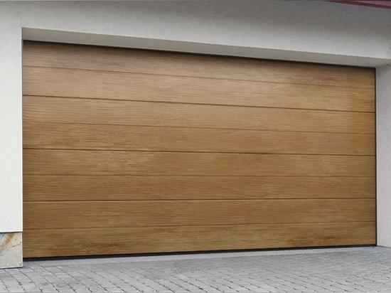 NEW: sectional garage door by DAKO