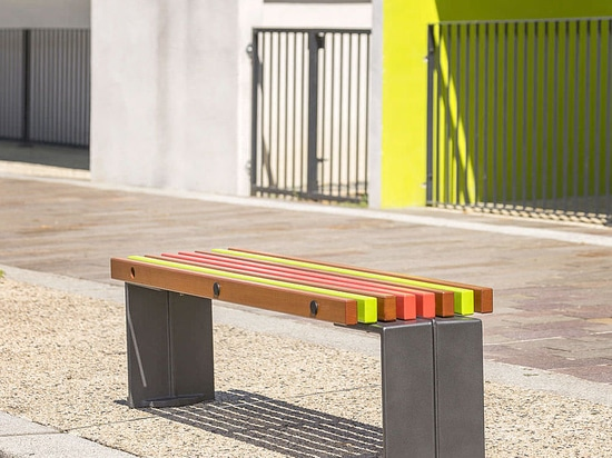 COLOR bench by Concept Urbain