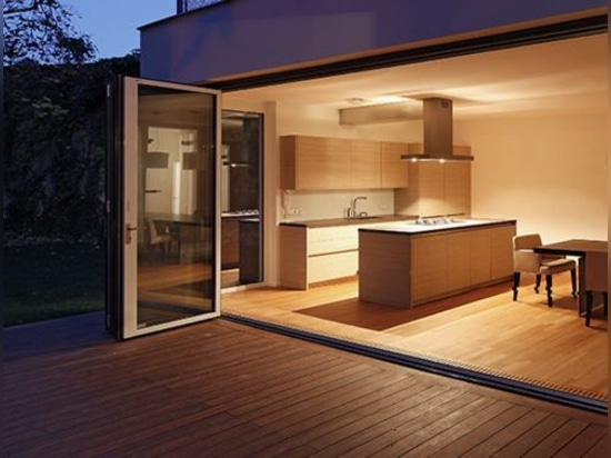 NEW: sliding and stacking patio door by NanaWall