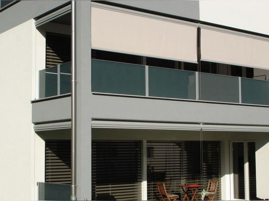 NEW: fabric solar shading by Servis Climax
