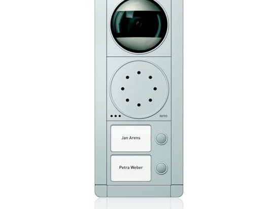 NEW: stainless steel door station by schneider-electric