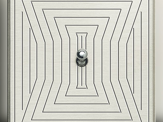 Light switch  toggle metal contemporary-Atelier Luxus