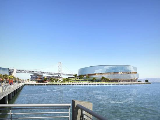 Golden State Warriors Event Pavilion & Waterfront Park