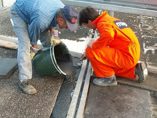 NEW: polymer expansion joint by Mageba