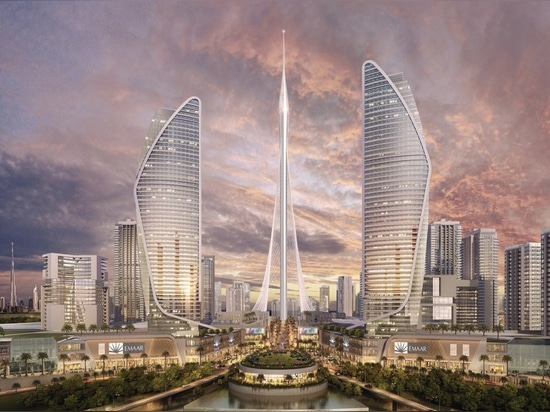 Calatrava's Dubai observation tower resembles the Hanging Gardens of Babylon