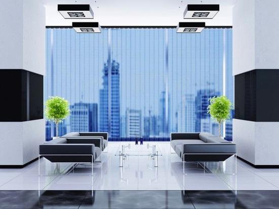 NEW: vertical blinds by SolarScreen International