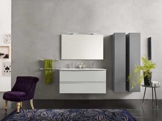 URBAN double washbasin cabinet by Inda