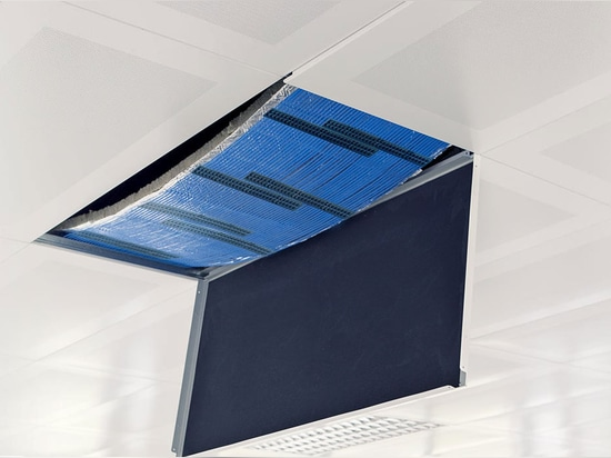 NEW: radiant suspended ceiling by Datum Phase Change Ltd