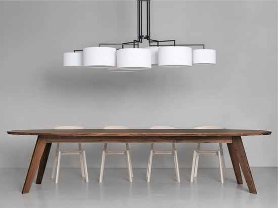NEW: contemporary chandelier by ZEITRAUM