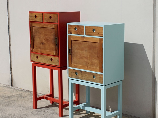 ARTHUR & ZOÉ - Original chests of drawers - hand made in Barcelone - One off pieces