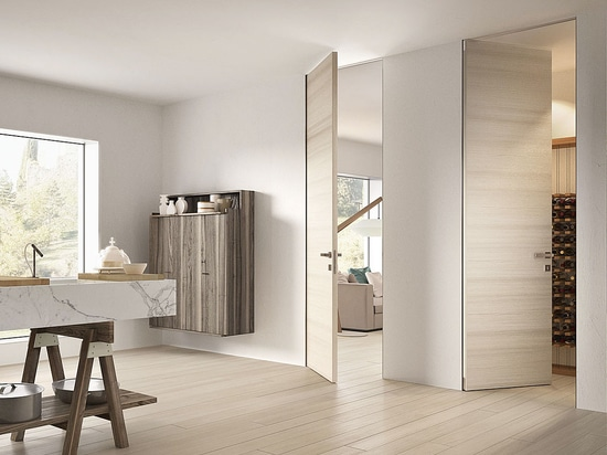 Biverso: the pull and push door concept mixing style and technology