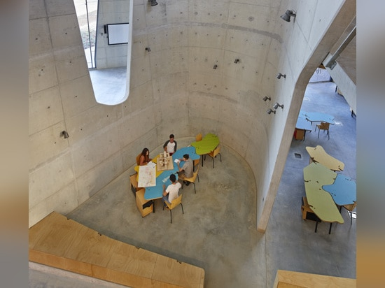 "Abedian School of Architecture by CRAB Studio was ""designed from the inside out"""