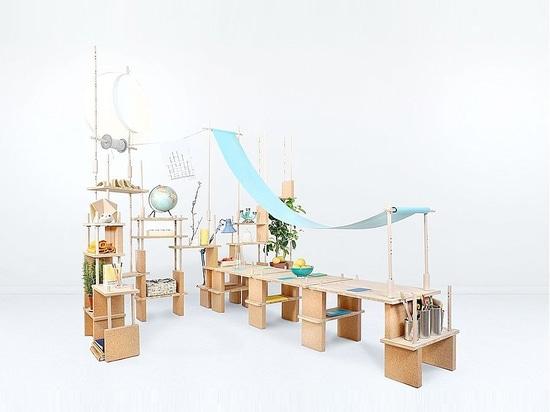 NEW: modular shelf by SMARIN