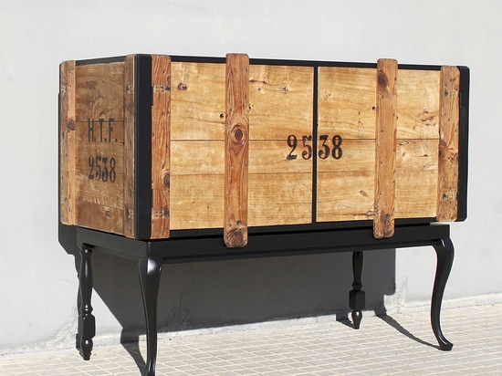 Original chest of drawers work hand-made in Barcelona in limited series piece.