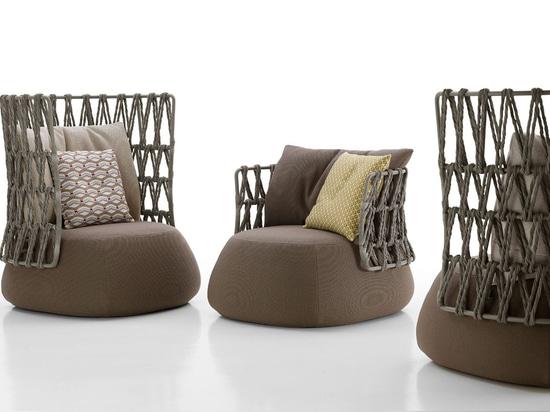 NEW: contemporary armchair by B&B Italia