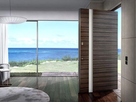 ZEN – ZEN Pivot: Aluminium Entrance Door Series create new horizons for modern residential and industrial design