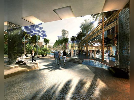Laboratory of the future in the desert