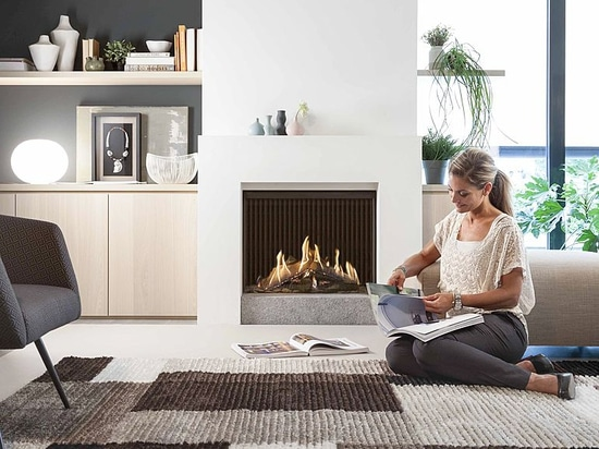 Kal-fire presented a groundbreaking new gas fire at the ISH trade fair