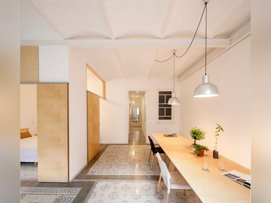 Adrian Elizalde renovates 1930s tiled apartment in Barcelona