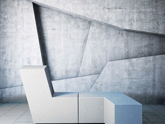 Up monolithic modular bench
