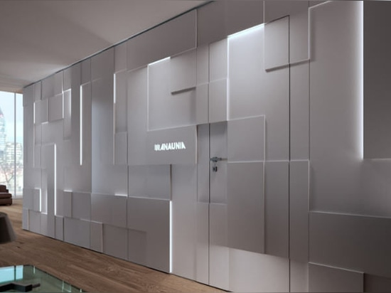 NEW:  movable partition by ANAUNIA S.r.l