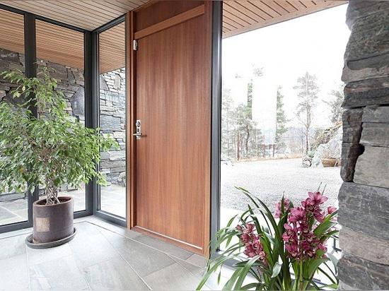 FSC wood entrance doors-Bovalls