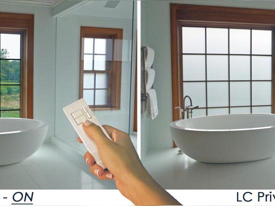 Privacy Glass Bathroom
