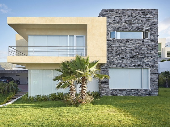 MINERALS Design - Aluminium composite panels and sheets for architecture in traditional look