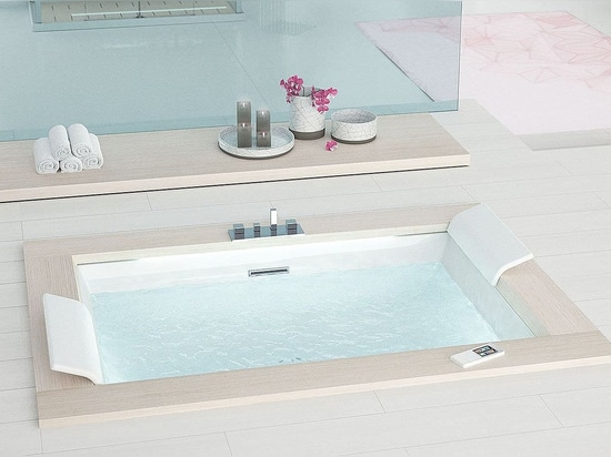 SENSE DUAL HYDRO PLUS - Rectangular bathtub