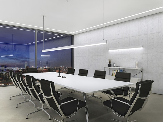 SYSTEM 40, a multi-functional lighting system for linear lighting of architecture