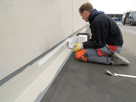 Permanent waterproofing even in tiny corners